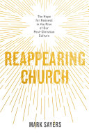 Reappearing Church Pdf/ePub eBook