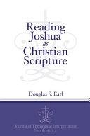 Reading Joshua as Christian Scripture
