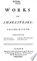 The Works Of Shakespeare In Seven Volumes
