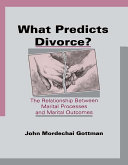 What Predicts Divorce