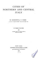 Florence  Siena  and other towns of Tuscany and Umbria Book