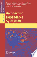 Architecting Dependable Systems VI