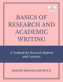 BASICS OF RESEARCH AND ACADEMIC WRITING