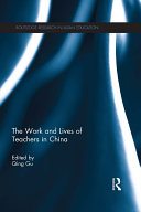 The Work and Lives of Teachers in China - Seite 163