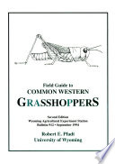 Field Guide to Common Western Grasshoppers