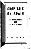 Shop Talk on Spain Book