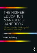 The Higher Education Manager's Handbook Pdf/ePub eBook