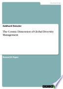 Download The Cosmic Dimension of Global Diversity Management Book
