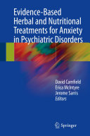 Pdf Evidence-Based Herbal and Nutritional Treatments for Anxiety in Psychiatric Disorders Telecharger