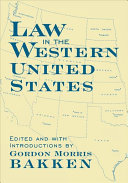 Law in the Western United States