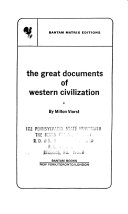 The Great Documents of Western Civilization Book