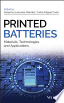 Printed Batteries