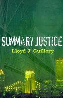 Summary Justice