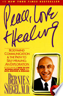 Peace  Love and Healing Book