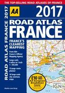 Road Atlas France 2017