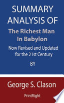 Summary Analysis Of The Richest Man in Babylon