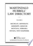The Martindale-Hubbell Law Directory  , Band 8