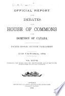 House of Commons Debates