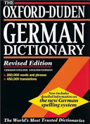 The Oxford Duden German Dictionary