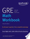 GRE Math Workbook Book