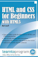 HTML and CSS for Beginners (with HTML5)