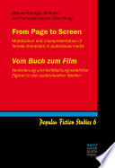 From Page to Screen   Vom Buch zum Film
