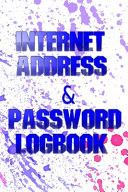 Password Log Book