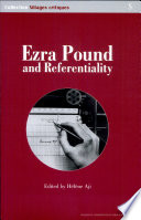 Ezra Pound and Referentiality