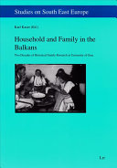 Household and Family in the Balkans