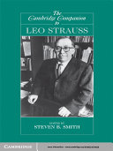The Cambridge Companion to Leo Strauss