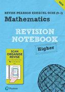 Revise Edexcel GCSE  9 1  Mathematics Higher Notebook