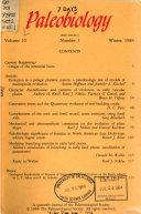 Paleobiology Book
