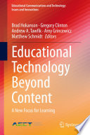Educational Technology Beyond Content