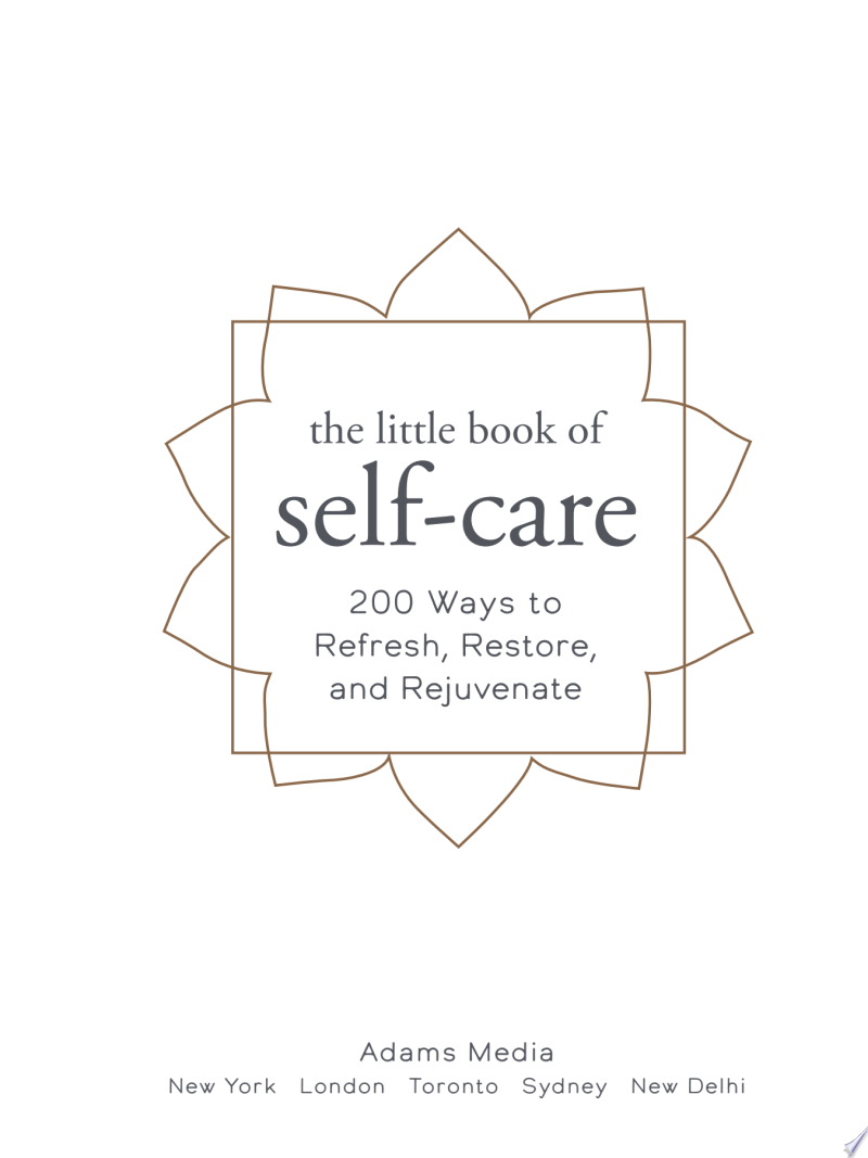 The Little Book of Self-Care banner backdrop