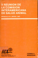 II Meeting of the Interamerican Commission on Animal Health  Brasilia  D F   Brazil 1985  April 29 May 1st   1985