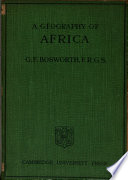 A Geography Of Africa Book PDF