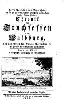Chronik der Truchsessen von Waldburg