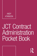 JCT Contract Administration Pocket Book