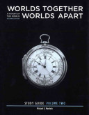 Worlds Together  Worlds Apart 2E Volume 2 Study Guide Book