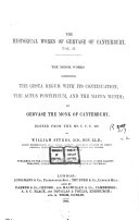 The Historical Works of Gervase of Canterbury