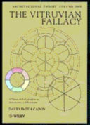 Architectural Theory  The Vitruvian Fallacy