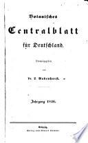 Botanisches Centralblatt für Deutschland