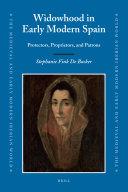 Widowhood in Early Modern Spain