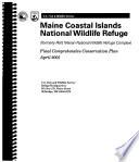Maine Coastal Islands National Wildlife Refuge  N W R    Comprehensive Conservation Plan Book