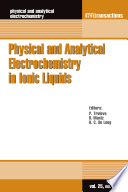 Physical and Analytical Electrochemistry in Ionic Liquids