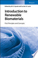 Introduction To Renewable Biomaterials Book PDF