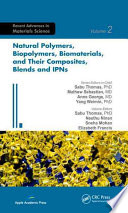 Natural Polymers  Biopolymers  Biomaterials  And Their Composites  Blends  And IPNs