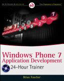 Windows Phone 7 Application Development
