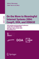On the Move to Meaningful Internet Systems 2004  CoopIS  DOA  and ODBASE