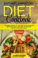 Anti Inflammatory Diet Cookbook Book